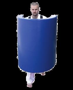 BN Bodyschild tragbar XXL, blau