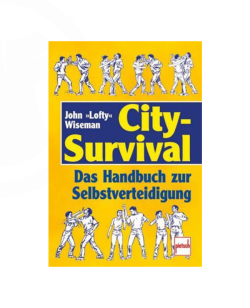 Buch, City Survival, Das Handbuch zur Selbstverteidigung, John Wiseman