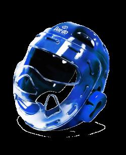 Daedo Kopfschutz mit Visir blau WTapproved
