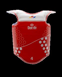 Daedo e-trunk Protector Gen2 Schutzweste rot XL/5 ohne Transmitter EPRO2980 XL