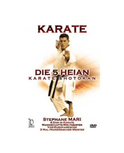 DVD, Die 5 Heian, Karate Shotokan, Stephane Mari IP 80