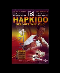 DVD, Hapkido Self Defense Vol.1 - Myung Yong Kim and Chang Soo Lee