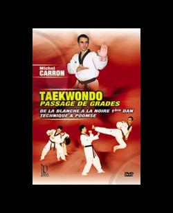 DVD, Taekwondo Übergang der Grade, Michel Carron IP 88