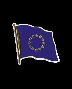 Flaggen-Pin Europa