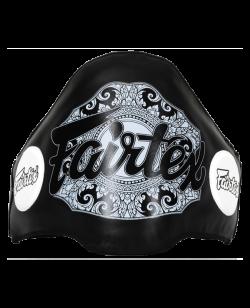 Fairtex Belly Pad Bauchschild schwarz Leder