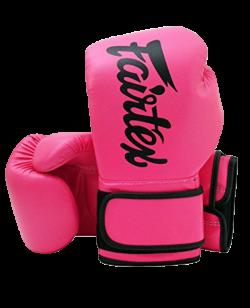 Fairtex Boxhandschuh Mikrofaser SHOCK PINK BGV14