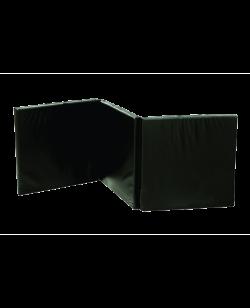 FW Faltmatte Home Gym 3teilig schwarz 2m x 0,9m x 40mm