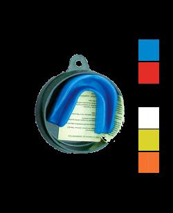 Zahnschutz in verschiedenen Farben, CE