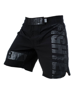 Fighter MMA shorts Pledge schwarz