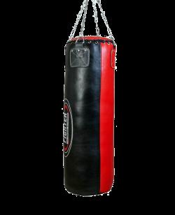 Fighter Boxsack CONTENDER Leder ca.105x33cm 40 kg fertig gefüllt