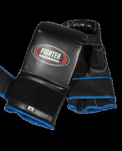Boxsack Handschuhe Leder Bag Glove S schwarz S