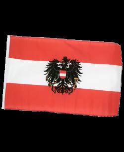 Flagge AUSTRIA Österreich mit Bundesadler