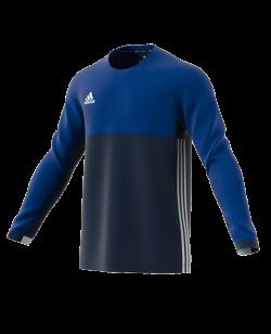 adidas T16 Clima Cool LS TEE MEN blau AJ5512