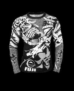 Fuji Musashi Rashguard schwarz/weiss