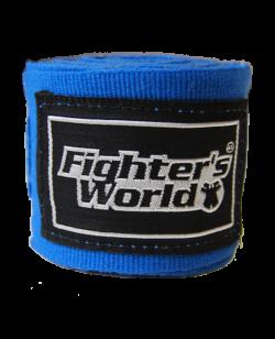 FW Boxbandagen elastic blau ca. 250 cm 255cm
