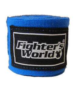 Boxbandagen elastic blau 255cm