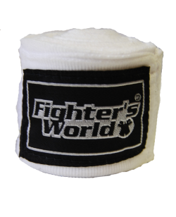 Boxbandagen elastic weiß