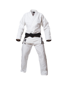 Fighter`s World NO ESCAPE Brazilian Jiu Jitsu Anzug A3 weiss 180