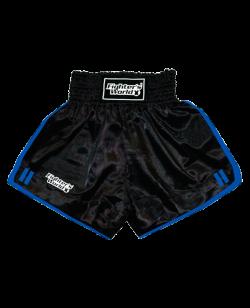 FW Boran Thaiboxing Short schwarz/blau