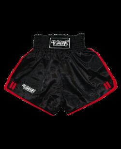 FW Boran Thaiboxing Short schwarz/rot