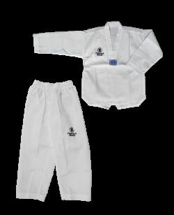 FW Classic Dobok Taekwondo Anzug weißes Revers