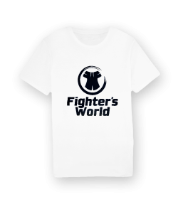 Fighters World CORE Logo T-Shirt weiß