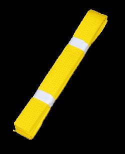 Farbgurt gelb 220 cm 220 cm