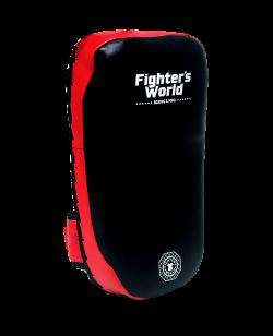 FW Thai Kickpad Octagon rot/schwarz