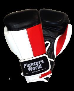 Fighter`s World Boxhandschuh IMPACT rot/weiß/schwarz
