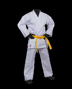 FW Kihon Allround Anzug weiß 10oz Baumwolle