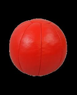 FW Medizinball Leder rot 3kg