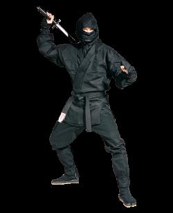 FW Ninja Anzug schwarz