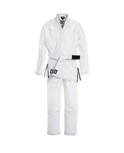 Fighter`s World NO ESCAPE Brazilian Jiu Jitsu Anzug weiss