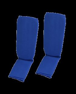 FW Schienbein und Ristschutz Stoff size blau