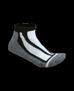 FW Cool Dry Sneaker Socken schwarz/grau