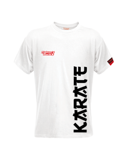 FW Spirit T-Shirt Karate weiß
