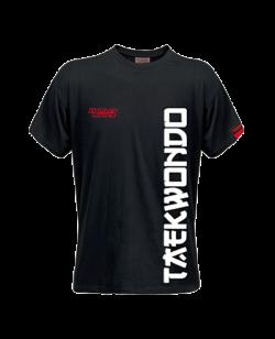 FW Spirit T-Shirt Taekwondo schwarz