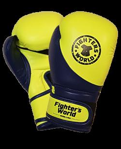 FW Boxhandschuh Strike Junior gelb/blau