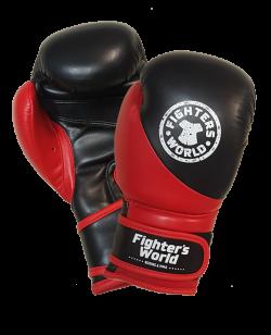FW Boxhandschuh Strike rot/schwarz