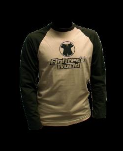 F.W. Langarm-Shirt, sand/khaki M