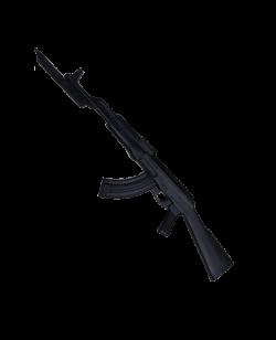 FW Gummi Trainingssturmgewehr schwarz mit Baionnette