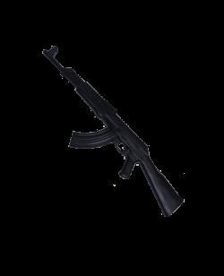 FW Gummi Trainingssturmgewehr schwarz