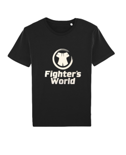 Fighters World CORE Logo T-Shirt schwarz Damen