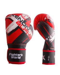 FW XENON ALPHA Boxhandschuhe oz red/black