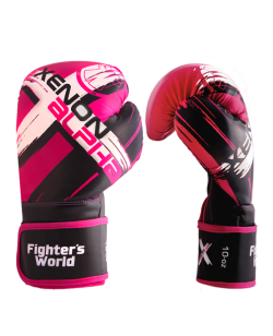 FW XENON ALPHA Boxhandschuhe oz rose/black