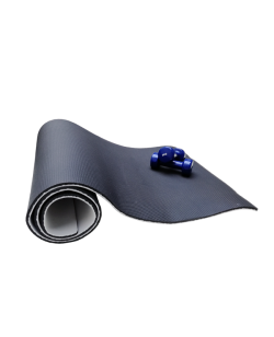 FW Yoga & Gymnastik Matte schwarz/grau 180x60cm Dicke 1cm
