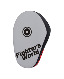 Fighter`s World Handpratze JAB & HOOK Punch Mitts grey/black/red 1Paar
