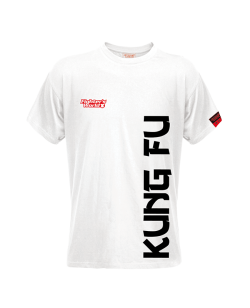 FW Spirit T-Shirt Kung Fu weiß