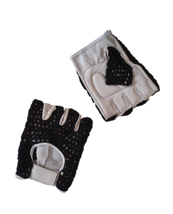 Gewichtheberhandschuhe 1 Paar aus Leder