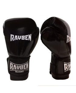 RayBen Boxhandschuhe PU schwarz
